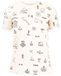 Loewe White Cotton T-shirt