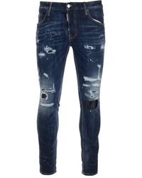 DSquared² Other Materials Jeans - Blue