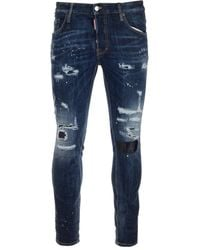 DSquared² ANDERE MATERIALIEN JEANS - Blau