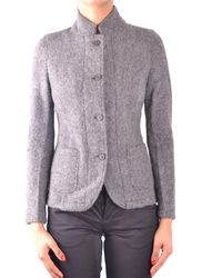 Sun 68 Wool Outerwear Jacket - Grey
