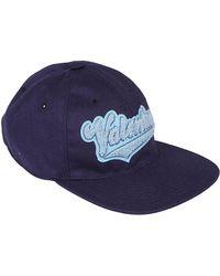 Valentino Blue Cotton Hat