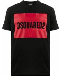 DSquared² - BAUMWOLLE T-SHIRT - Lyst