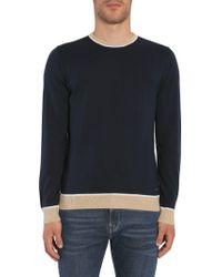 """BOSS by Hugo Boss """"marcelli"""" Sweater - Blue"""