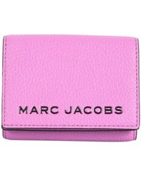 Marc Jacobs Leather Wallet - Purple