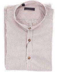 Alessandro Dell'acqua - Beige Cotton Shirt - Lyst
