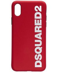 DSquared² ROT PVC ABDECKUNG