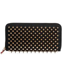 Christian Louboutin Leather Wallet - Black