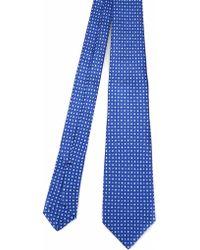 Kiton Light Blue Silk Tie