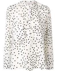 Stella McCartney - White Silk Shirt - Lyst