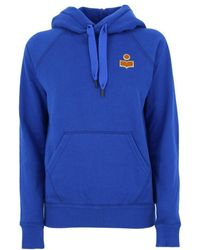 Isabel Marant Cotton Sweatshirt - Blue