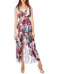 Rinascimento Pink Polyester Dress