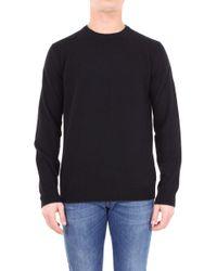 Altea - Black Wool Sweater - Lyst