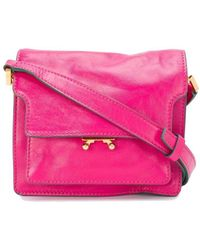 Marni ANDERE MATERIALIEN SCHULTERTASCHE - Pink