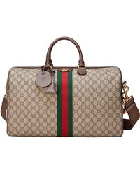 Gucci Fabric Travel Bag - Natural