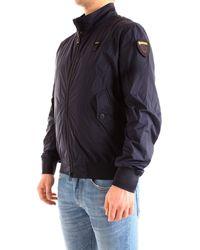 Blauer 21sbluc04158005250 Polyester Outerwear Jacket - Blue