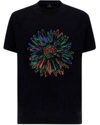 Paul Smith ANDERE MATERIALIEN T-SHIRT - Schwarz