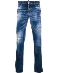 DSquared² Cotton Jeans - Blue