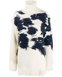 Off-White c/o Virgil Abloh WOLLE SWEATER - Natur