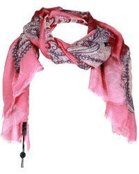 Twin Set ANDERE MATERIALIEN SCHAL - Pink