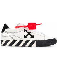 Off-White c/o Virgil Abloh - New Arrow Low Vulcanized Sneaker White Black - Lyst