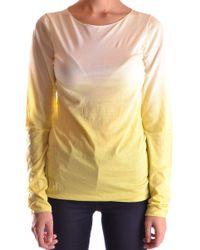 BP. Yellow Cotton T-shirt