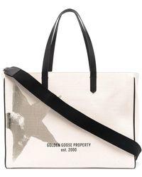 Golden Goose Handtasche mit Print - Mehrfarbig