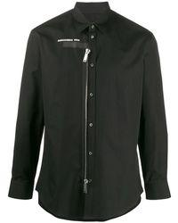 DSquared² Black Cotton Shirt
