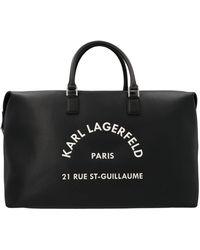 Karl Lagerfeld ALTRI MATERIALI - Nero