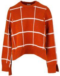 Mrz Red Wool Sweater
