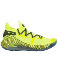 Under Armour Yellow Polyamide Trainers