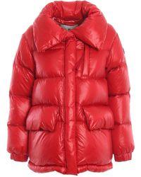 Woolrich Alquippa Puffy Down Jacket - Red