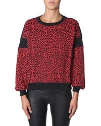 Philosophy - ROT BAUMWOLLE PULLOVER - Lyst