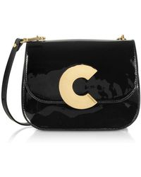 Coccinelle Black Leather Shoulder Bag
