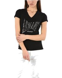 Giorgio Armani Cotton T-shirt - Black