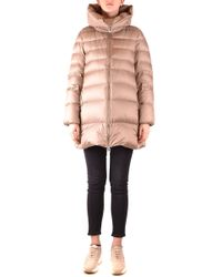 Add Beige Polyester Down Jacket - Natural