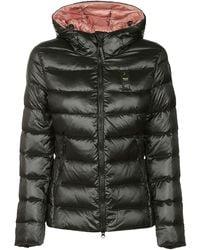 Blauer Polyamide Down Jacket - Black