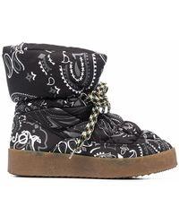 Khrisjoy Cfmw100nybdbk01 Polyester Ankle Boots - Black