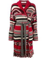 Golden Goose Deluxe Brand Wool Cardigan - Red