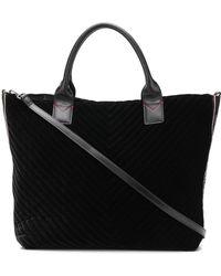 Pinko Black Velvet Handbag
