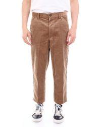 Comme des Garçons Brown Velvet Trousers