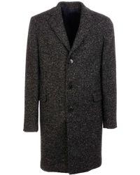 Brooksfield Black Wool Coat