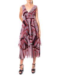 ViCOLO Multicolor Polyester Dress