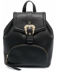 Versace Jeans Couture 71va4bf871578899 polyurethan rucksack - Schwarz