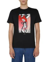 PS by Paul Smith Cotton T-shirt - Black