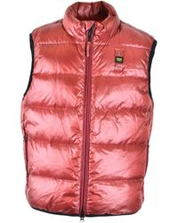 Blauer Polyamide Vest - Red