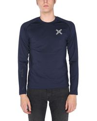 KENZO Fb55ts0244js77 polyester t-shirt - Blau