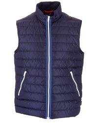 Fay Polyamide Vest - Blue