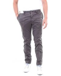 Incotex Leather Trousers - Brown