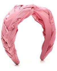 RED Valentino Polyester Headband - Pink
