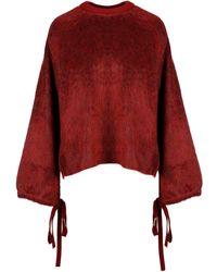 Mrz Wool Sweater - Red